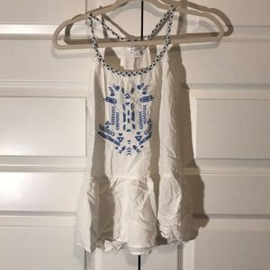 Charming Charlie Embroidered Cami
